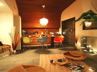 コト Living roomStools & chairs Rattan/Wicker Orange