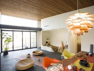 コト Living roomLighting Rattan/Wicker Orange