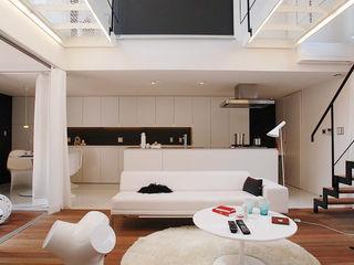 コト Living roomSofas & armchairs Leather White
