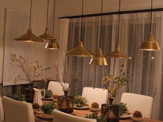 コト Dining roomLighting Copper/Bronze/Brass Amber/Gold