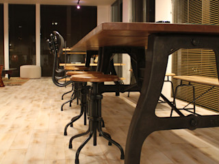 コト Study/officeDesks Wood Wood effect