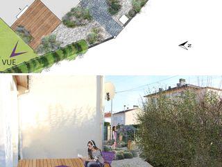 MINÉRAL VÉGÉTAL Constans Paysage Jardin moderne