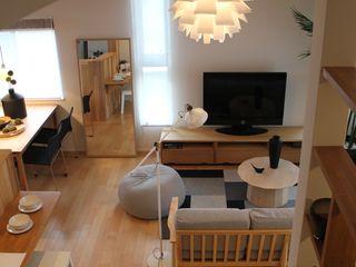 コト Living roomLighting Wood White