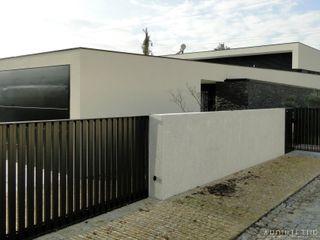arquitetura.501 Minimalist house Slate White