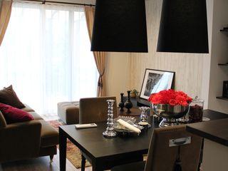 コト Dining roomLighting Flax/Linen Black