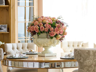 Boston Meets Paris Kellie Burke Interiors Classic style dining room