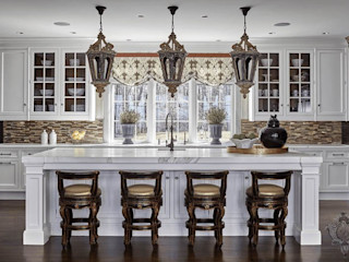 Glam House Kellie Burke Interiors Kitchen