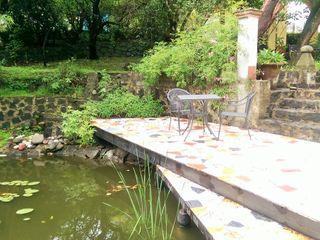 Paisaje Radical Rustic style garden Metal Multicolored