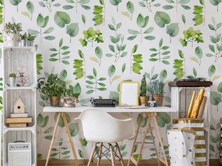 Pixerstick self-adhesive wallpapers Pixers Living roomAccessories & decoration Green