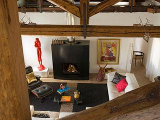 Appartamento in centro storico Filippo Coltro architetto Soggiorno eclettico