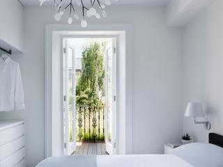 Gardnor Road, Hampstead NW3 Brosh Architects Moderne Schlafzimmer Weiß