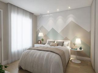 Marilia Zimmermann Arquitetura e Interiores Scandinavian style bedroom