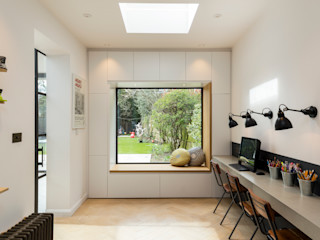 Parke Rd Barnes VCDesign Architectural Services Modern study/office