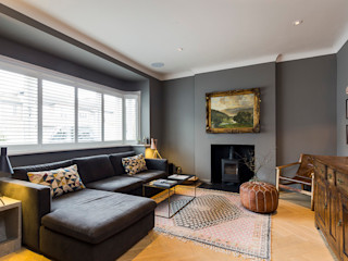Parke Rd Barnes VCDesign Architectural Services Classic style living room