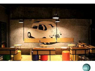 Oro Colato - Gelato and Bar IDEO DESIGNWORK Koridor & Tangga Gaya Industrial