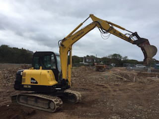 FOR SALE - 12.7.17 - Hyundai 5700kg Robex 55-7A Digger/ Excavator 2010 Yanmar Engine Hours 3765.8 Building With Frames Commercial Spaces Metal