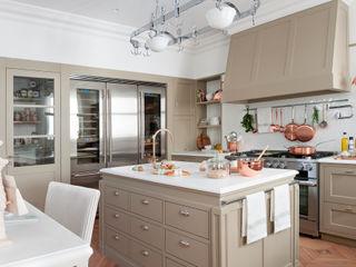 DEULONDER arquitectura domestica Dapur Klasik Beige