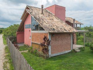 A+R arquitetura Casa unifamiliare Laterizio Rosso
