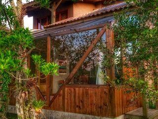 A+R arquitetura Casa unifamiliare Legno Beige