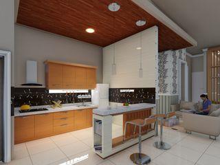 interior Ardha Design Dapur Modern White