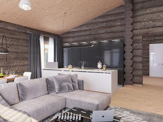 needsomespace Minimalist kitchen Wood Beige
