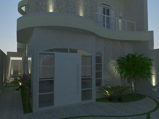 AJR ARQUITETURA Maison individuelle Blanc