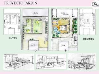 Proyecto Jardín-Espacios Verdes C-Sic Interiorismo