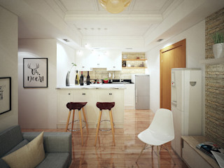 aidecore KitchenCabinets & shelves Ván ép White