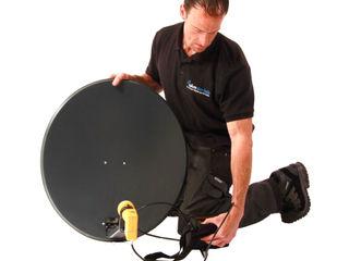Satellite installations Cheltenham Cheltenham Aerials Electronics Metal Black
