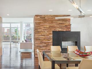 BILLINKOFF ARCHITECTURE PLLC Minimalist dining room