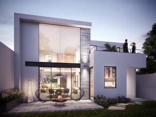DELTA Single family home Concrete White