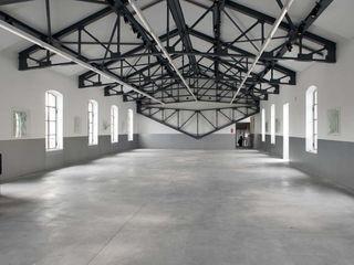 Pavimento ARCHITOP® - Fondazione Prada Fermox Solutions Museos de estilo moderno