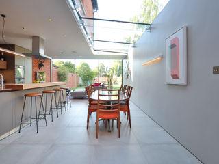 Kitchen extension and Renovation in Thame, Oxfordshire HollandGreen 모던스타일 주방
