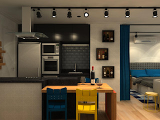 Fragmento Arquitetura Modern kitchen