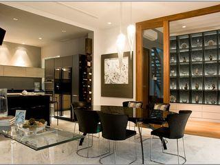 Mont Sinai, Singapore E&U Dapur Modern Beton White
