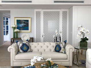 Ecologik Eclectic style living room Wood Beige