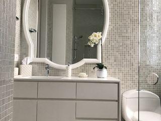 Ecologik Eclectic style bathroom Ceramic White