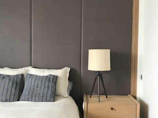 Ecologik Minimalist bedroom Wood Grey
