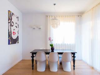 Casa glamour Filippo Coltro architetto Sala da pranzo moderna
