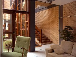 JMN arquitetura Rustik Oturma Odası