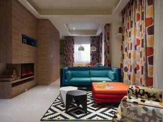 哲嘉室內規劃設計有限公司 Salones de estilo escandinavo