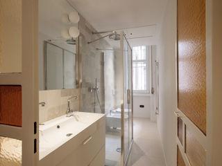 Chantal Forzatti architetto Modern Bathroom Tiles Beige
