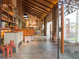 Duo Arquitetura Gastronomi Gaya Rustic Parket Wood effect
