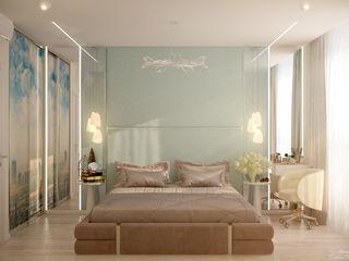 Студия интерьерного дизайна happy.design Mediterranean style bedroom