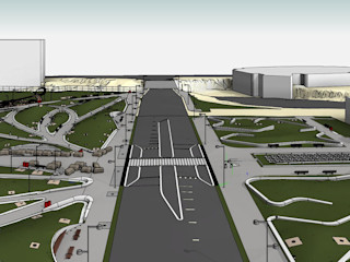 LOD 300 Modelling according to AIA Standards for a Reputed Public Park in USA Hitech CADD Services