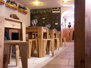 aponto Nhà hàng Than củi Wood effect