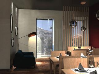 aponto Nhà hàng Gỗ Wood effect