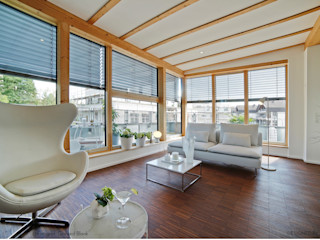 Münchner home staging Agentur GESCHKA Salon minimaliste Blanc