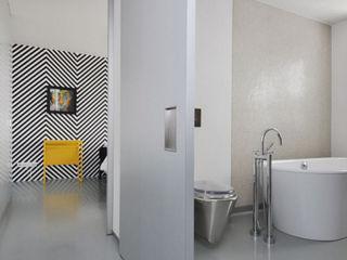 Archipelontwerpers Salle de bain industrielle