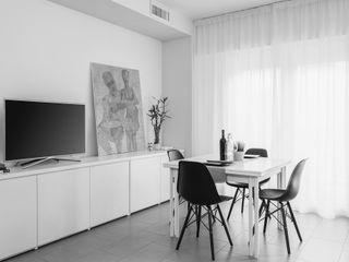 CASA C. FIRENZE OKS ARCHITETTI Soggiorno minimalista